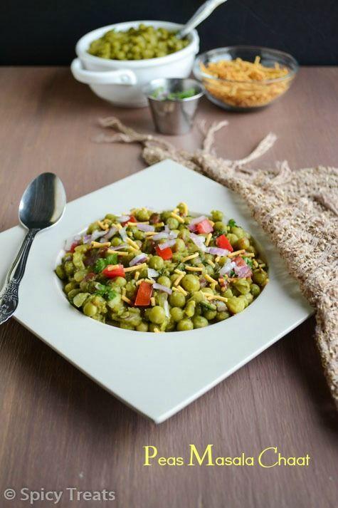Image result for Hari Matar ki Chaat | Green Peas Chaat