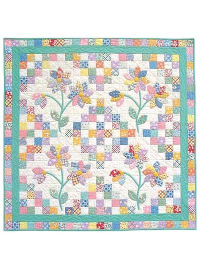 18 Best Images About Quilts Flowers On Pinterest Fat