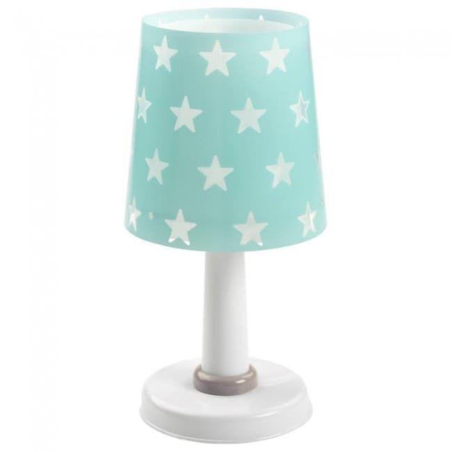 Table Lamp Stars, White Childrens Lampshade