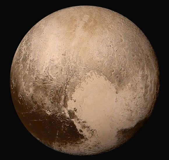 NASA Releases New Portrait of Dwarf Planet Pluto 7/27/15 Scientists with NASA's New Horizons mission have released the sharpest view yet of Pluto.