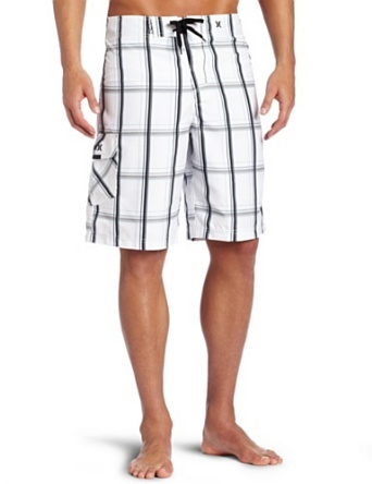 new york 6c132 0e54d Hurley Men`s Hurley Puerto Rico Plaid Boardshort