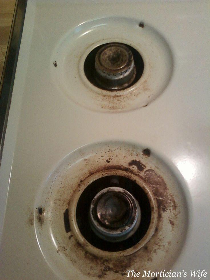 How to Clean Stove Burner Rings (Baking Soda + Peroxide雙氧水)