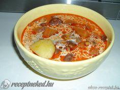 Jókai bean soup - Jókai bableves recept Gátiné Juhász Angéla konyhájából - Receptneked.hu