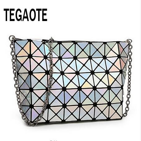 2017 Famous Bao Bao bag Diamond Lattice Fold Over Bags Women Handbags Chain Shoulder Bags Messenger Bag Bolsa BAOBAO 5*8 //Price: $40.47 & FREE Shipping //     #lovelylady