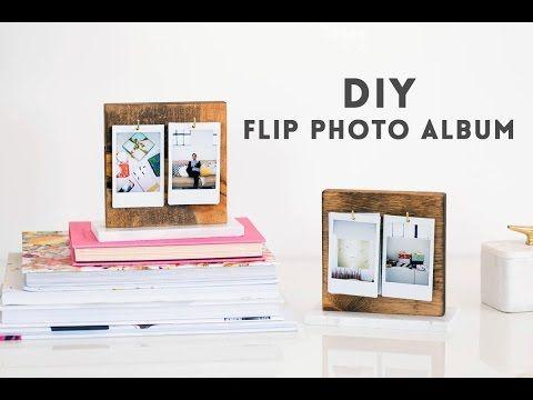 DIY Flip Photo Album   Sugar & Cloth