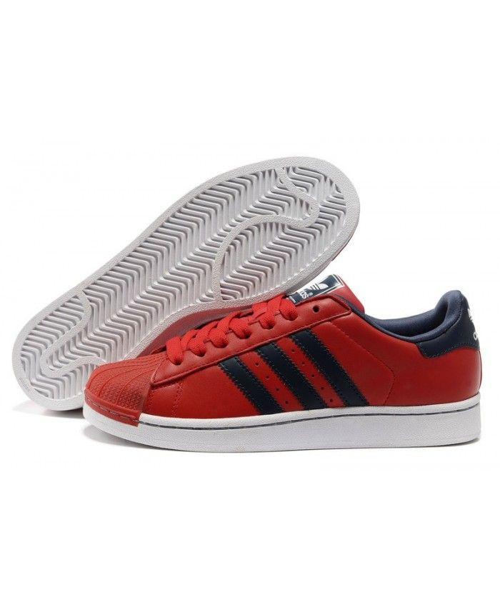 bff084050b5 Cheap Adidas Superstar Mens Red Sale T-1105