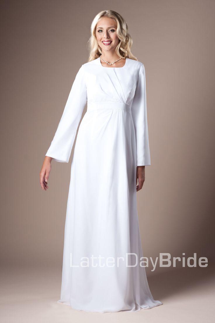 1000 images about temple dresses on pinterest bridal for Cheap lds wedding dresses