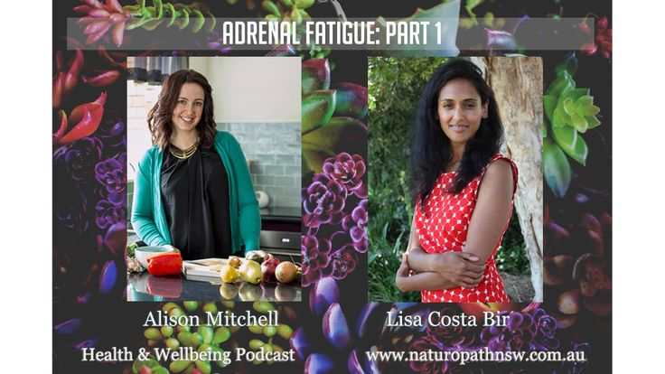 Adrenal Health - part 1 Health & Wellbeing podcast #15