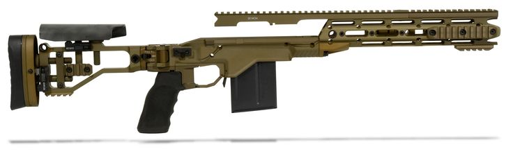 Although nothing is set in stone yet for the M40A7, there are a couple of changes from the M40A5 that are likely to happen:  1. Stock replaced with chassis (Remington RACS LW shownimage_609.jpg (JPEG Image, 2000×612 pixels)