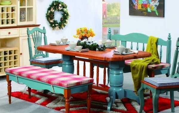 Ecolorful Decor Bright And Colorful Dining Room Decorating With