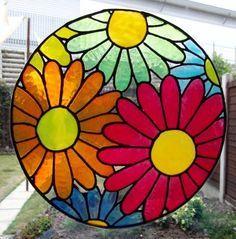 Resultado de imagen para vitrales de flores