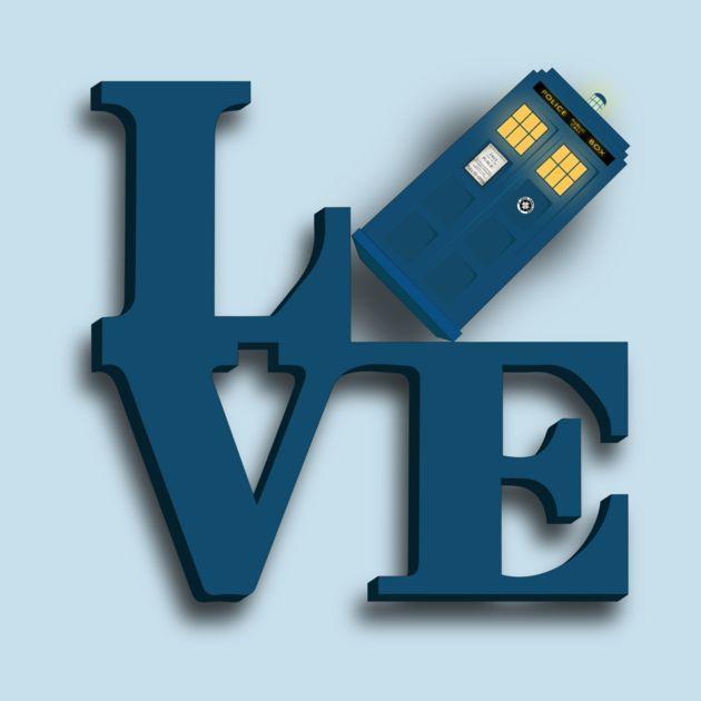 Doctor Who Love Tardis