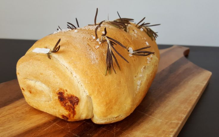 Roasted Garlic and Rosemary Bread – Bitesize Bakes