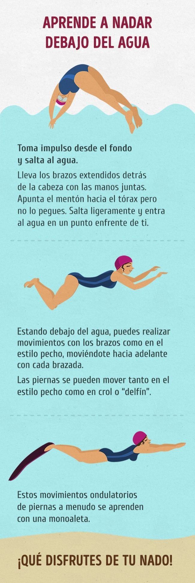 Guía completa para aquellos que quieren aprender a nadar como pez en el agua
