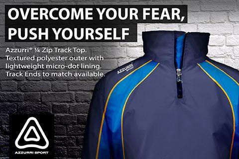 Azzurri Sport 1/4 Zip Track Top