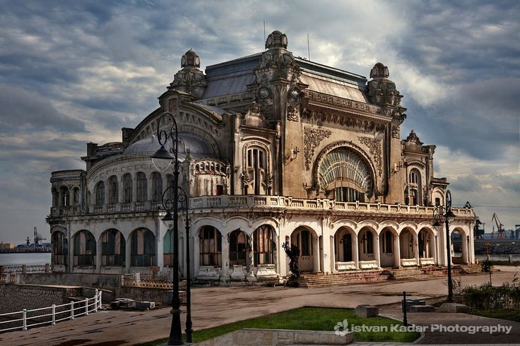 The Casino Building (Daniel Renard and Petre Antonescu) by Istvan Kadar