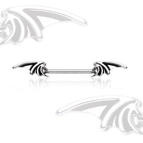 Piercing téton ailes de démon