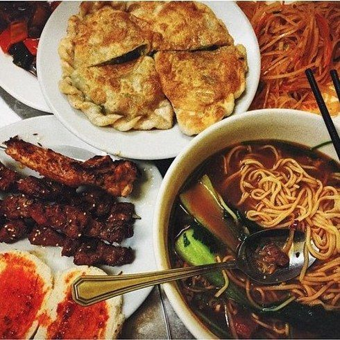 Stewed beef daoxiao noodles from Lanzhou Noodle Bar | 21 Of The Most Delicious Cheap Eats In London