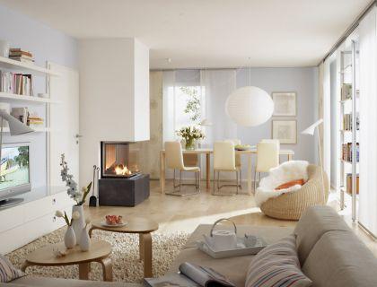 Dunkles Wohnzimmer wird einladend und hell - Wohn- und Esszimmer - [SCHÖNER WOHNEN]