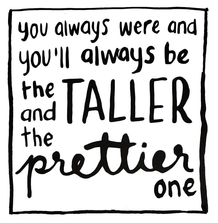 """Lily Allen - Back to the start - """"...you always were and you'll always be the taller and the prettier one..."""" - #Lyrics"""