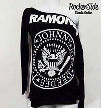 Camiseta Ramones manga larga reformada. $30.000 Adquierela en www.rockerside.com Envíos a todo Colombia, aceptamos todos los medios de pago