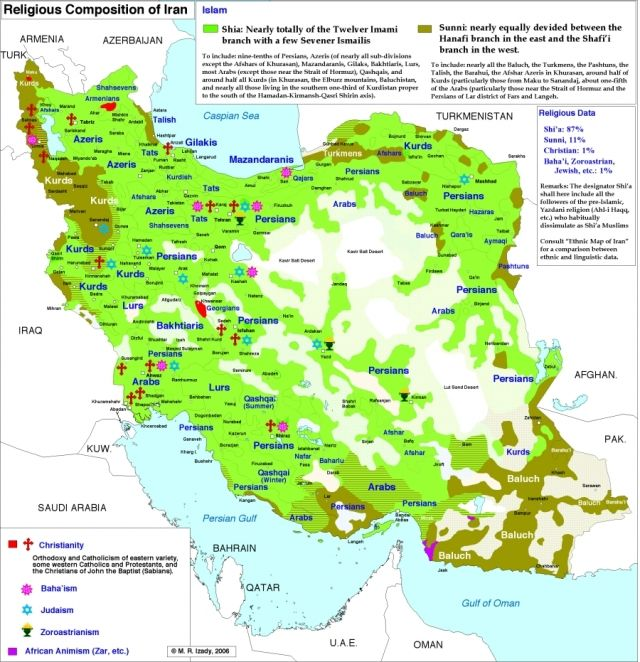 Iran Religions