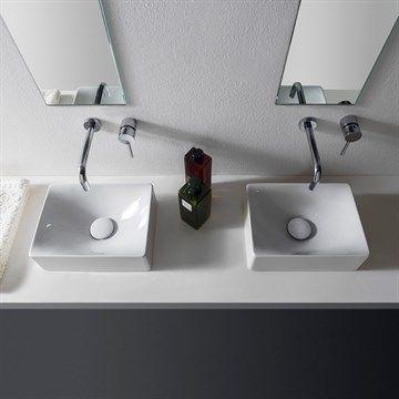 Mini Molli - lille håndvask i flot Italiensk design.