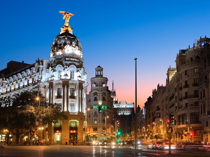 Madrid, Spain. The magic of Madrid is best captured on foot, strolling through the streets, stopping in a museum or sitting for a drink at La Alemana, a historic bar once frequented by Ava Gardner and Ernest Hemingway. For a taste of everyday Spanish life in this vibrant capital city, shop at El Corte Inglés, sample the market culture at Mercado San Antón and the Mercado de San Fernando, and bring your picnic to the ancient Egyptian Temple of Debod, which was donated to Spain in 1968.
