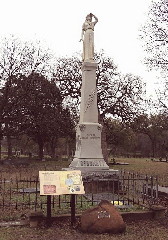 The Smallest State Park In Texas The Grave Of Elizabeth