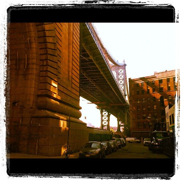 Location for shoot today - Dumbo, NYC Instagram