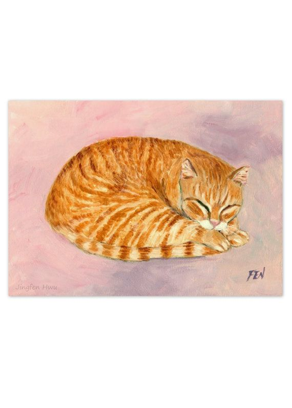 Dream Wall Decor 148 best my cat painting images on pinterest | cat art print, cat
