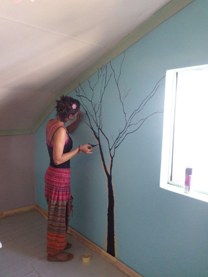 Shop renovations Painting with @Simone Van Staden