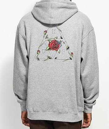 Image result for huf hoodie x rose