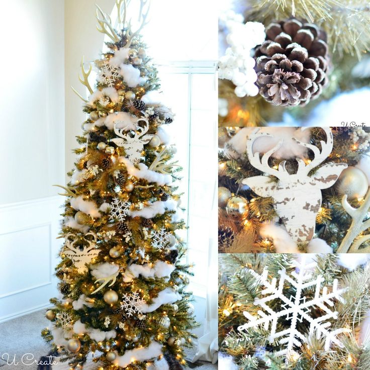 199 best images about christmas trees on pinterest for Michaels crafts christmas trees