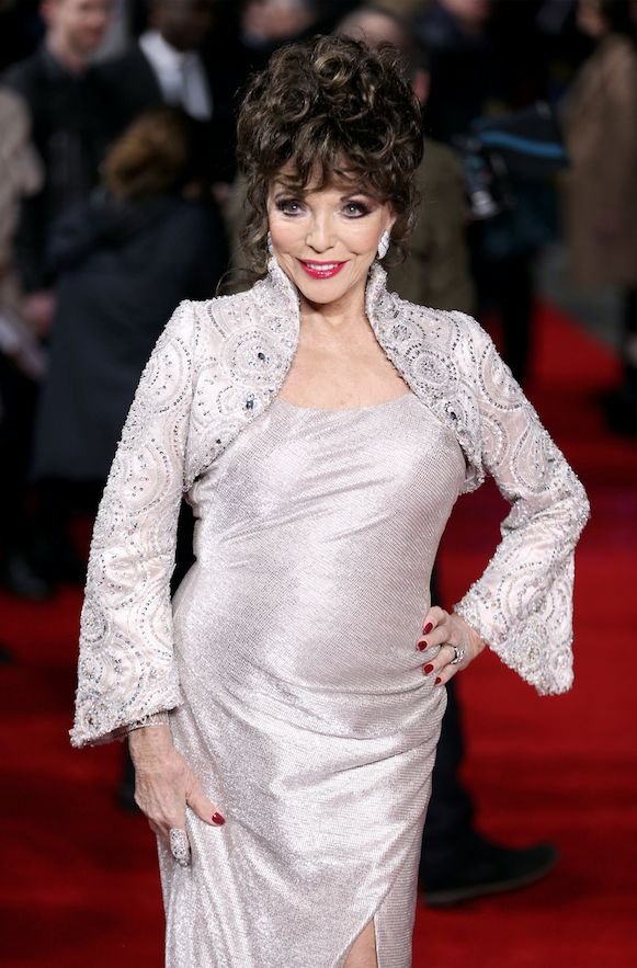 Joan Collins, 83, Shows the Young 'Uns How to Do Red Carpet Sizzle - The WOW Report
