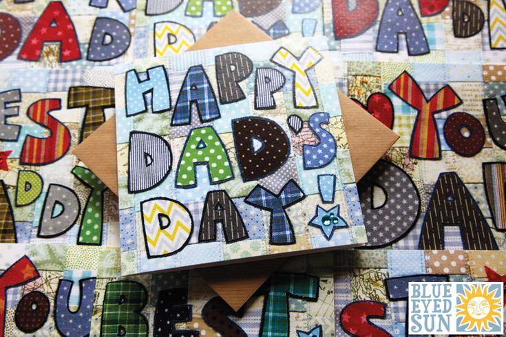 Patch it Up Fathers Day Cards by Blue Eyed Sun