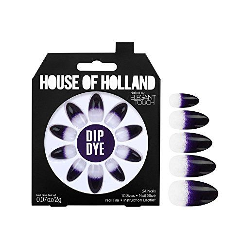 From 3.99:Elegant Touch House Of Holland Dip Dye False Nails