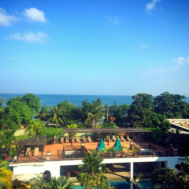 Once upon a morning in Kuta -- Taken from a hotel room at Grand Inna Kuta