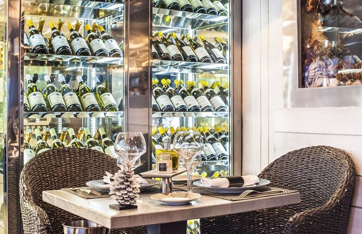 La cave à vin du Bar à Huitres Saint Germain !