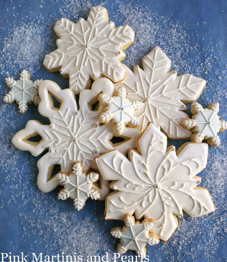 Cookie inspo: Winter Party or Frozen-Themed...
