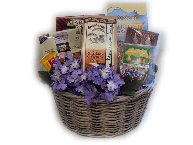 Vegan Mother's Day Gift Basket