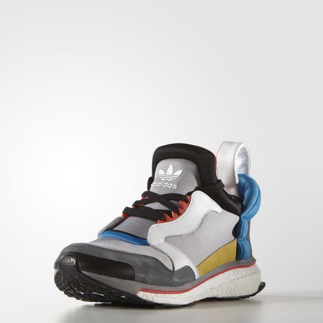 adidas Blue Boost Shoes - Grey   adidas US