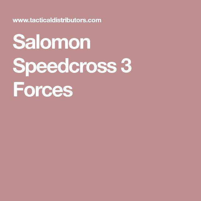 Salomon Speedcross 3 Forces