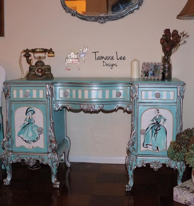 for the fashion lover, painting wood furniture