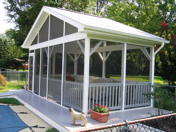 Offering a wide variety of screened rooms, from screened pagodas to gazebos! Proudly serving Maryland, Washington DC, VA, PA and DE since 1986.