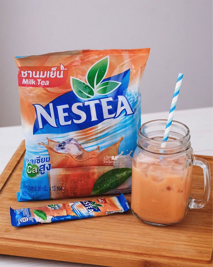 Apart from all the snacks, I feel like Nestea Milk Tea is like mandatory items to buy when in Bangkok, Thailand. It may not be as authentic as the Number One Brand, but it was very refreshing and easy to make at home.