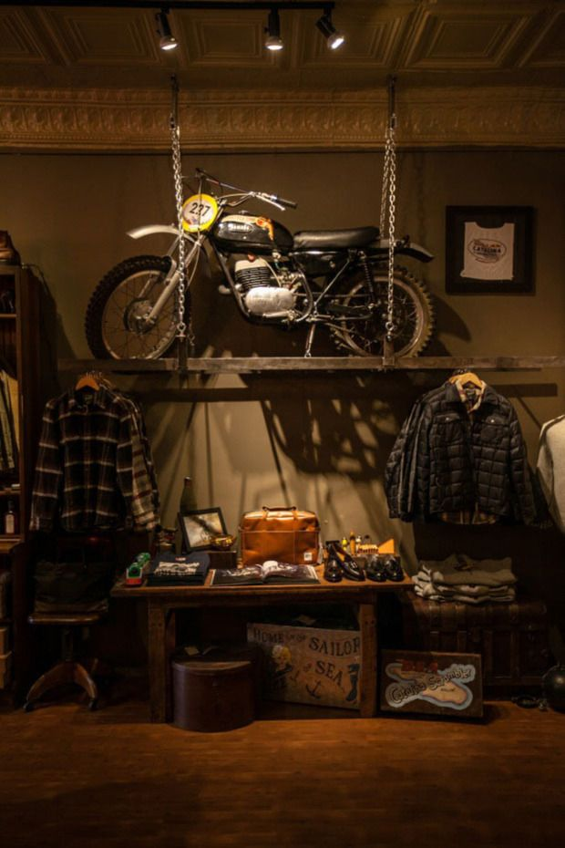 Man Cave Retail Store : Chicago bikes be cool and caves