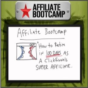 Affiliate Bootcamp: FREE this was a $997 training course which is given away FREE to help train affiliates on how to do affiliate marketing.