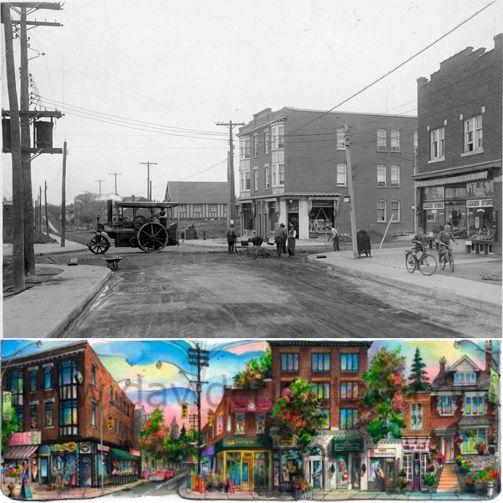 #TBT to #Toronto's Spadina & Lonsdale (#ForestHillVillage), 1927.