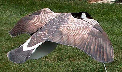 Sillosocks Flapping Canada Snow Goose Decoy, Grey Sillosocks
